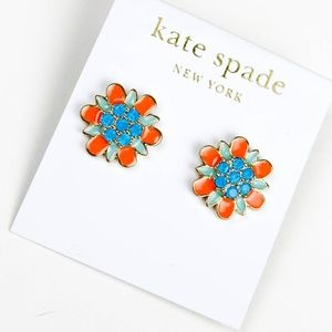 kate spade floral earrings